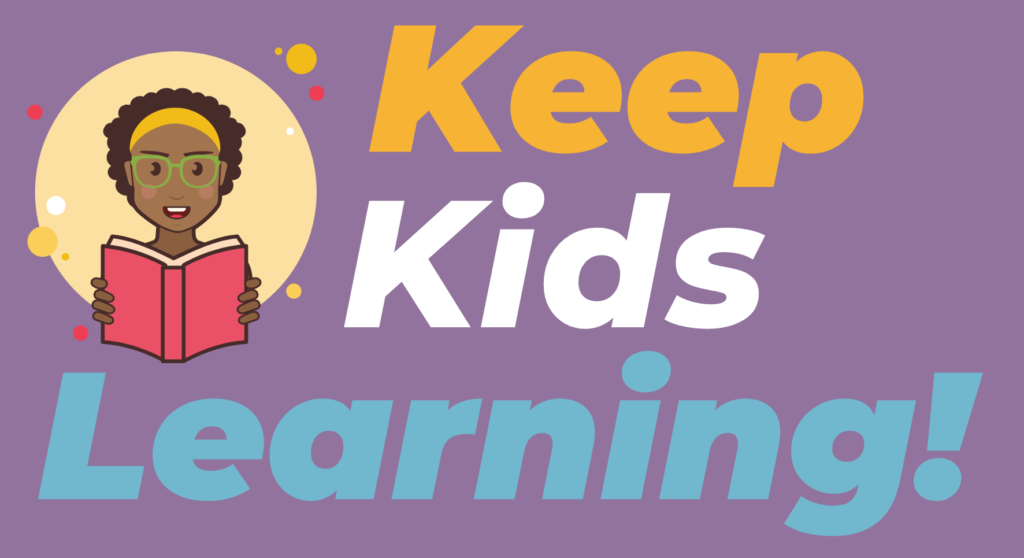 Keep Kids Learning Campaign Graphic